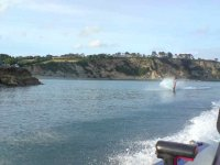 Cruise at top speed with Waterskiing