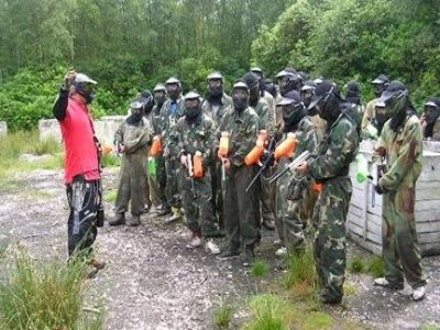 Hard Days Knight Paintball
