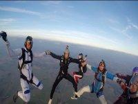 Circle in free fall