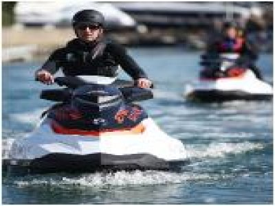 Sandbanks Boating Jet Skiing