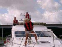 Enjoying life onboard