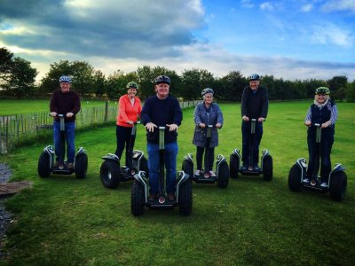 Cluny Clays Ltd Segway