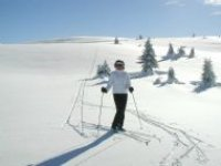On the stunning slopes