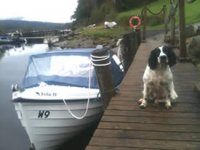 Our boat resting