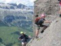A scenic climb