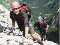 Breathtaking climbing