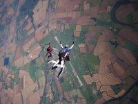 Freefall tandem jump