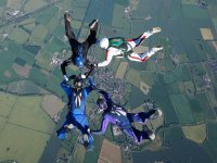 Skydiving with a view