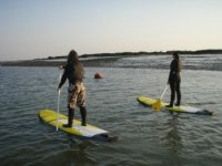 Out for an evening´s paddle