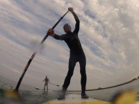 Paddle Boarding in Lyme Regis