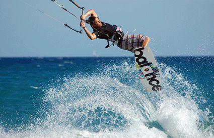 Kitesurfing in United Kingdom