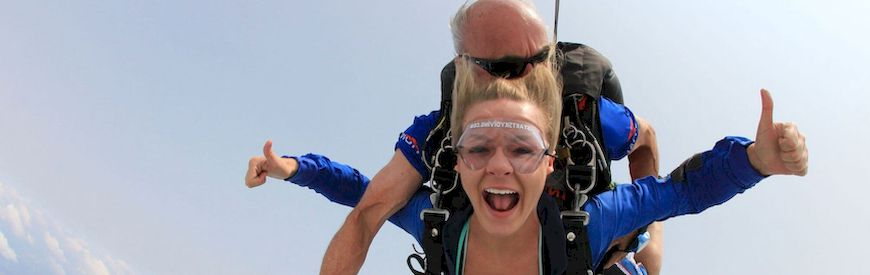 Offers of Skydiving  Gran Canaria
