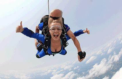 Skydiving in United Kingdom