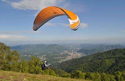 Paragliding in United Kingdom