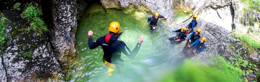 Offers of Canyoning  Rialp