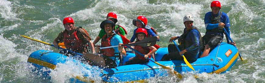 Offers of Rafting  Campo
