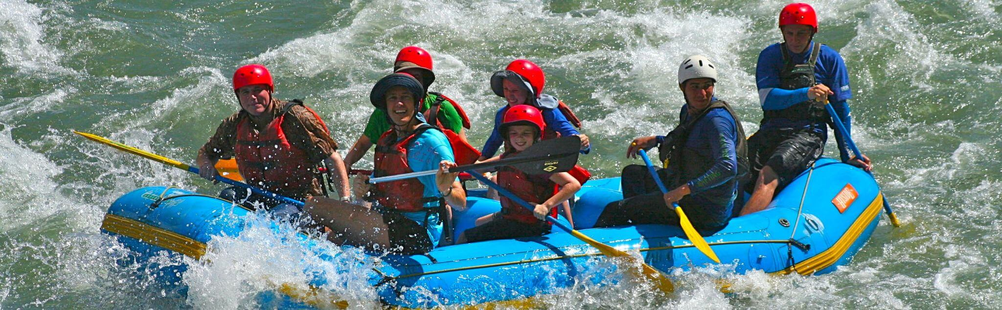 Rafting in León