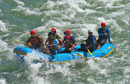 Rafting in United Kingdom