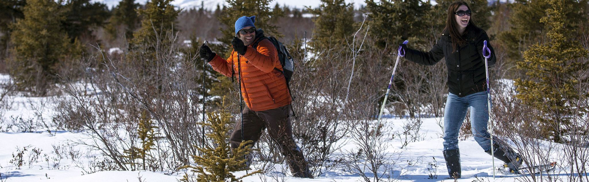 Snowshoeing in Senterada