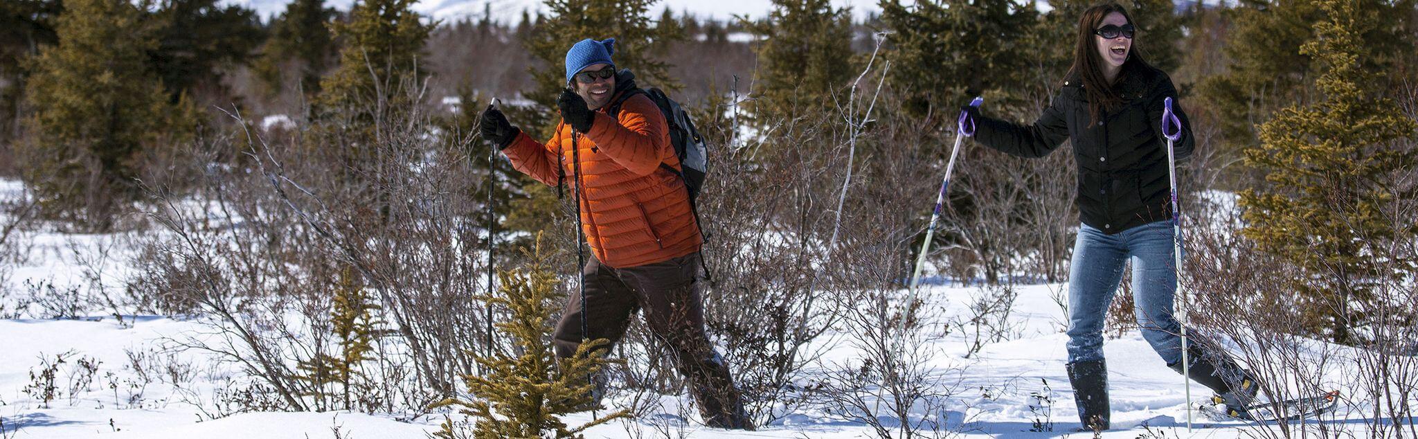 Snowshoeing in Tona