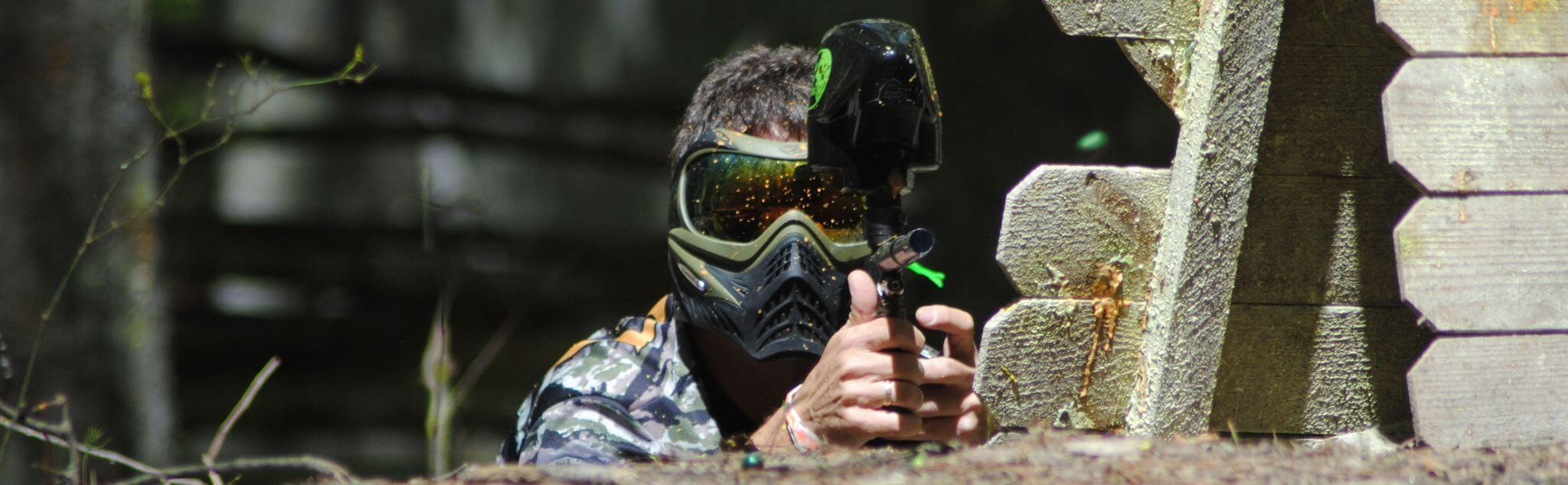 Paintball in Olvera