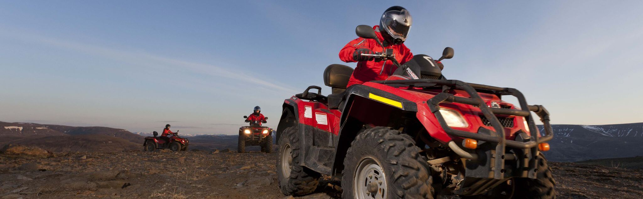 Quad Biking in Aldeatejada