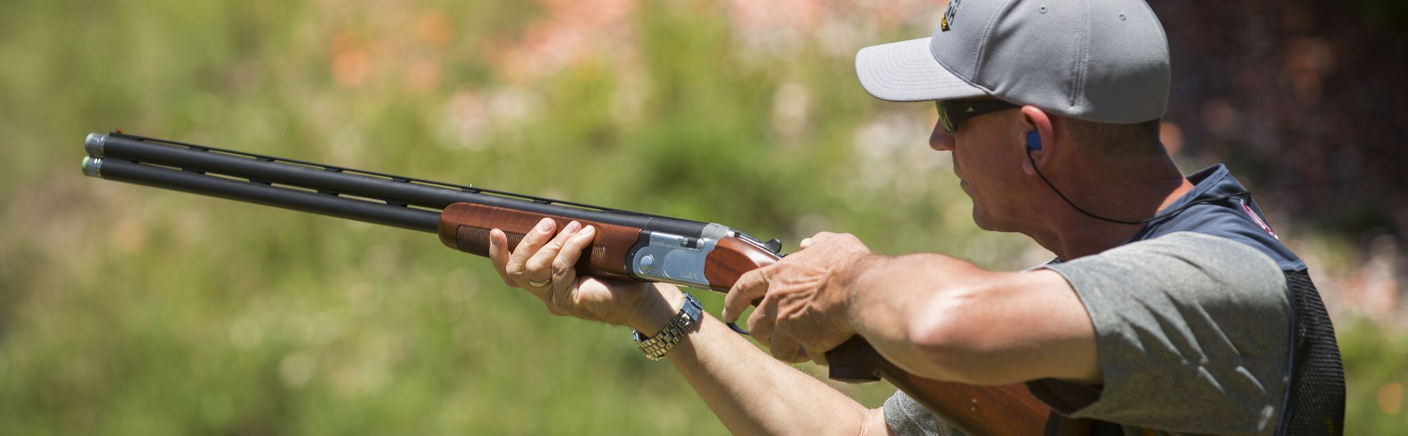 Clay Pigeon Shooting in West Sussex