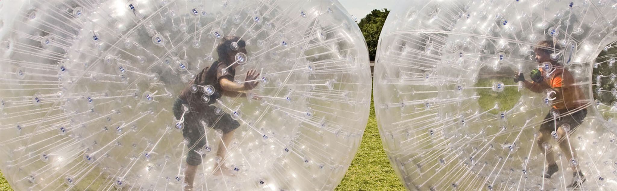 Zorbing in Gelves