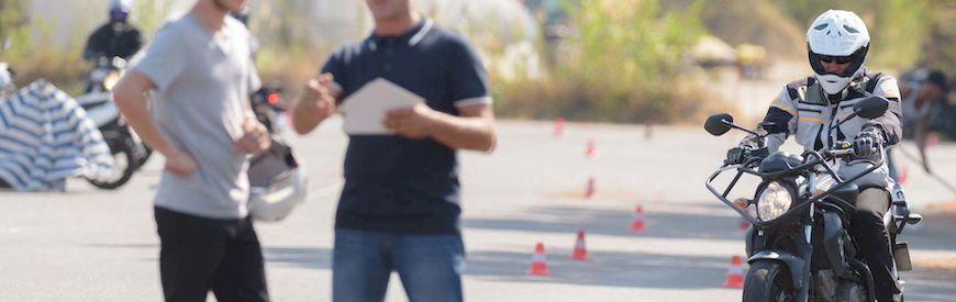 Offers of Motorcycle Driving Courses  Spain