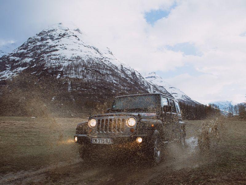 Go off road!