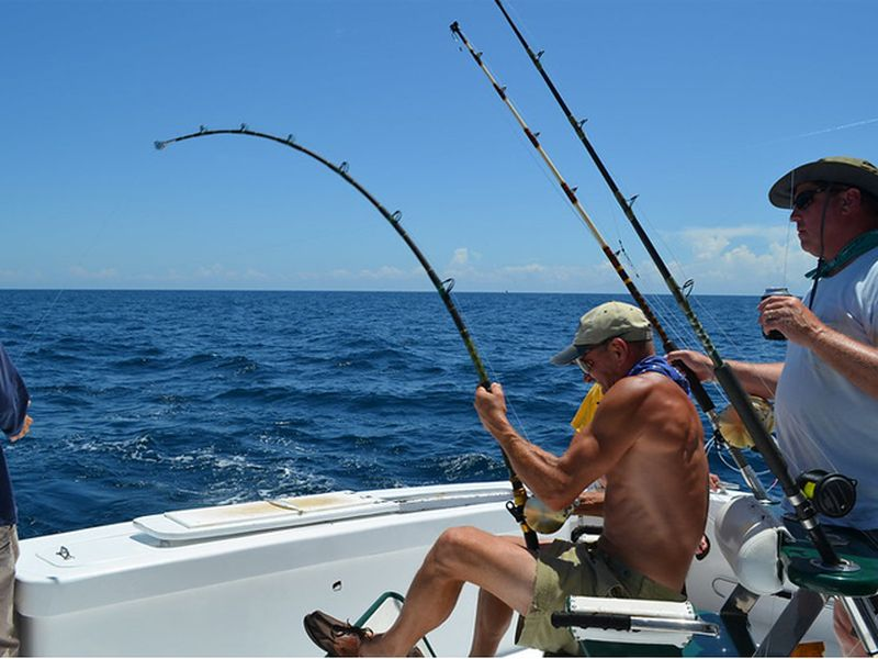 Fishing is an active workout