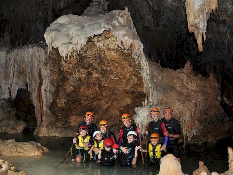Do you want more action? Dare to try speleology-caving
