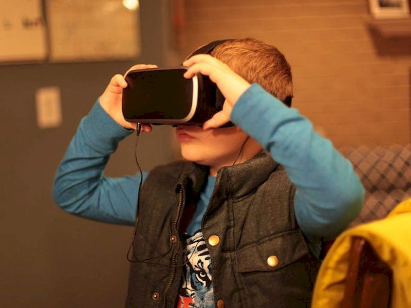 Discover the virtual reality