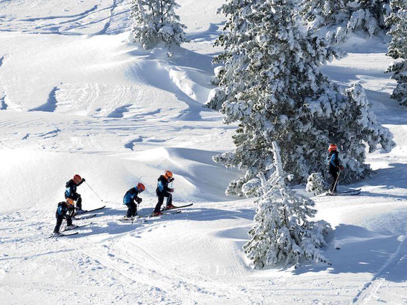 """Enjoy a """"tour"""" on the snow mantle"""