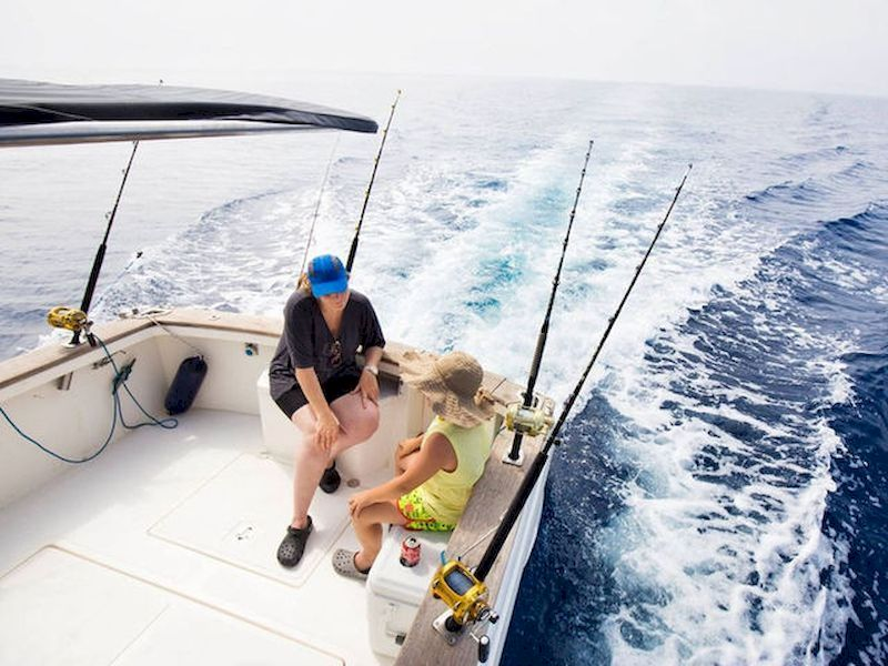 Pass a relaxing day whilst sailing
