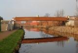 Foot bridge in bootle