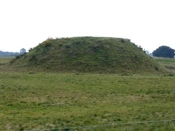 Curious mound at Sutton Hoo