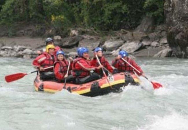 Rafting trip adventure