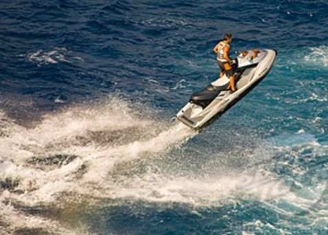 Extreme jet skiing