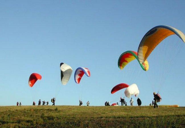 Paragliding reunion