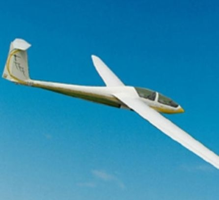 A beauty of a glider