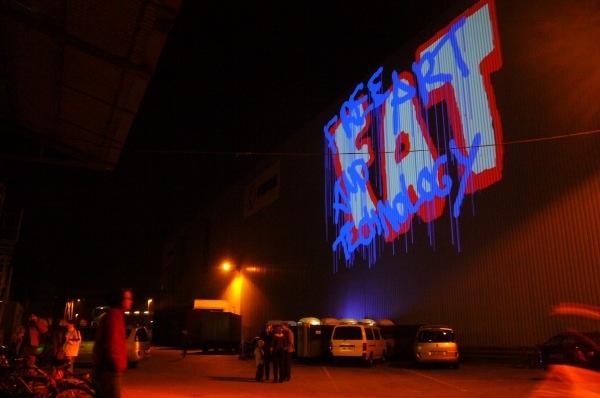 Laser tag art