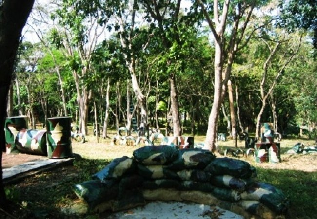 Airsoft field