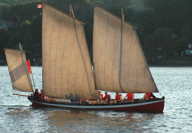 Gig sailing