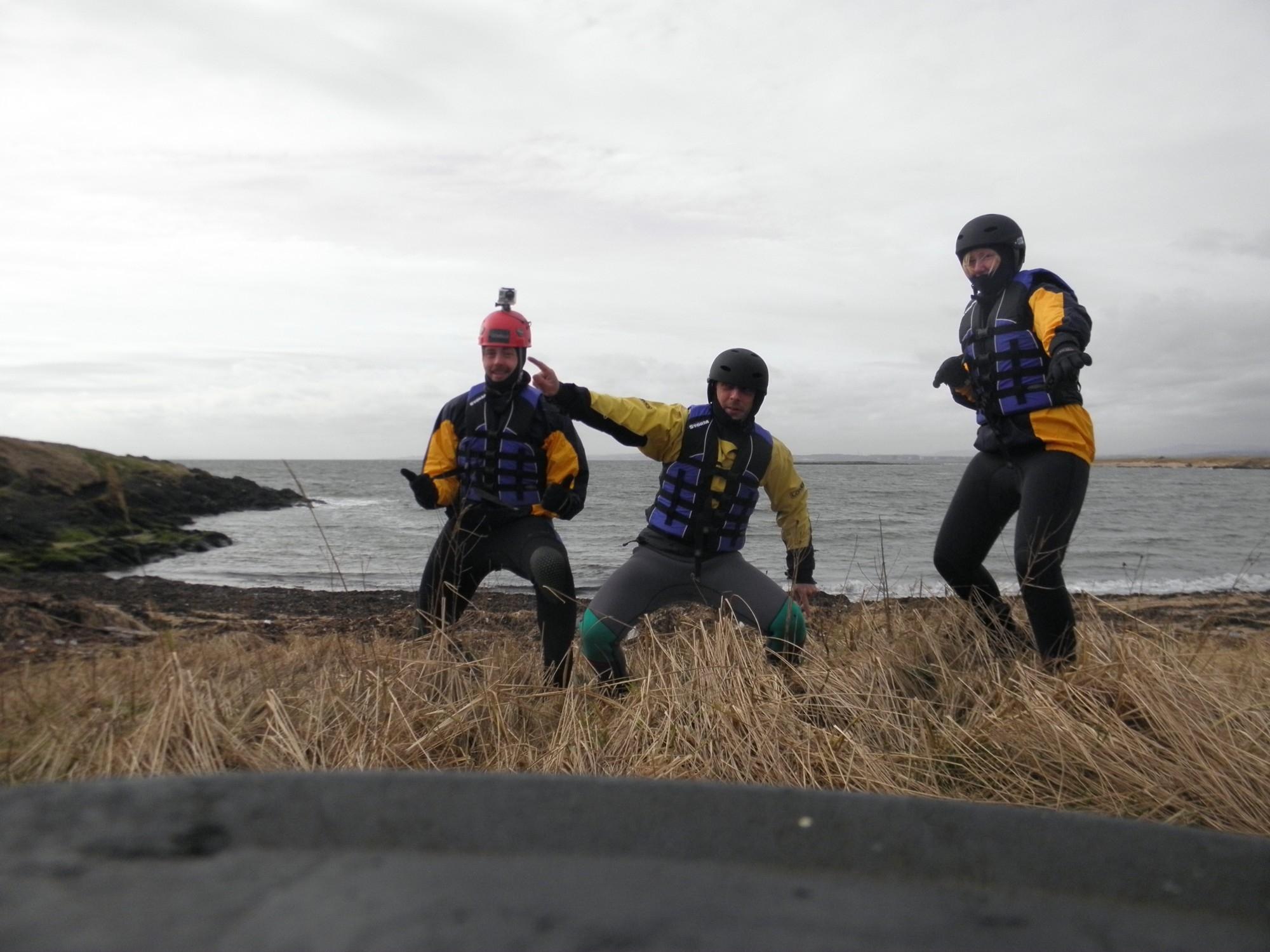 Coasteering scotland