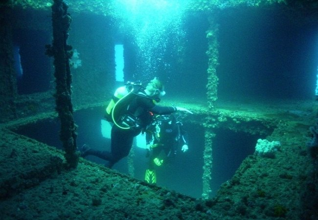 The wonders of wreck diving