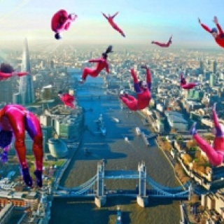 London parachuters